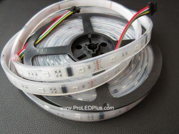 DMX RGB LED Strip, 30/m, 12V, 5m