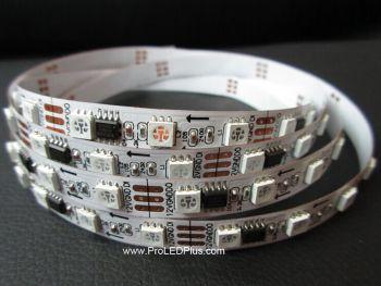 60/m WS2811 Addressable RGB 5050 Digital LED Strip, 5m, 12V