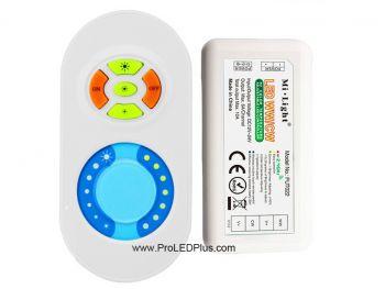 2.4G Tunable White LED Controller with Wireless RF Touch Color Remote