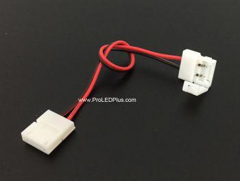 2 Pin 8mm/10mm Solderless Snap Jumper Connector