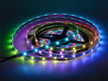 30/m SK9822 Addressable RGB  LED strip, 5m, 5V