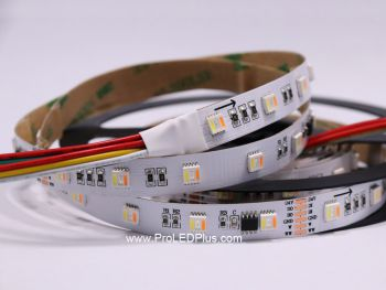 5-in-1 RGB+Tunable White 5050 LED Strip, 60/m, 24V, 5m