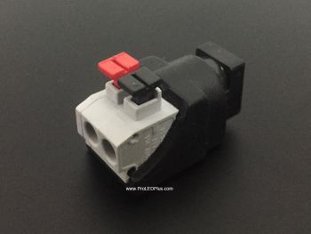 5.5*2.1mm DC Barrel Jack Screwless Quick Wire Connector (Female)