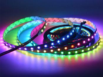 60/m SK9822 Addressable RGB  LED strip, 4m, 5V
