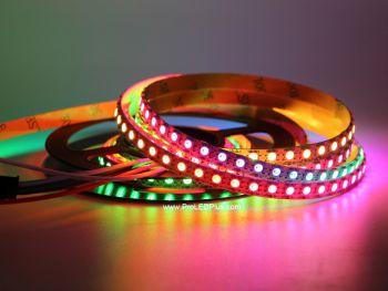 7mm Wide Tiny SK6812 Mini 3535 Digital RGB LED Strip, 144/m, 5V, 1m