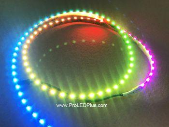 90/m SK6812 4020 Addressable LED Side Light Strip, 5VDC, 4m