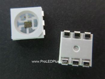 APA102C Addressable RGB 5050 LED with Integrated Driver Chip, 100 Pack