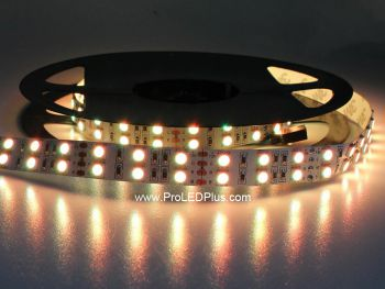 Double Row Color Changing RGB 5050 LED Strip, 126/m, 12V, 5m