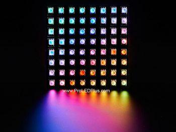 Flexible 8x8 Digital RGB LED Matrix