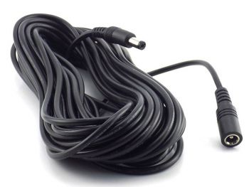 Heavy Duty 2.1mm x 5.5mm Male to Female DC Plug Extension Cord