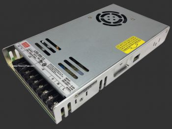 Meanwell LRS-350 Enclosed Power Supply, 5V/12/24V Output Available