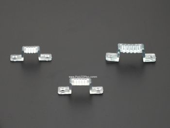 Plastic Mounting Clips for 120VAC Driverless LED Strip, 50 Pack