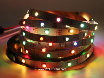 30/m SK6812 RGB 5050 Digital LED Strip, 5m, 5V