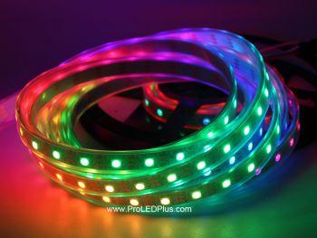 60/m SK6812 RGB 5050 Digital LED Strip, 4m, 5V