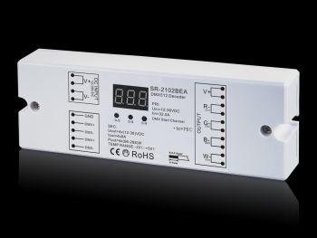 SR-2012BEA 4CH RGBW RGBA DMX Decoder, 4X8A
