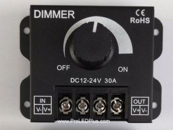 Surface Mount DC 12V-24V 30A  PWM Dimmer