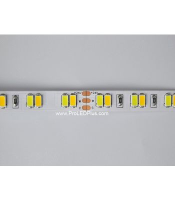 112/m 5630 Tunable White LED Strip, 24V, 5m