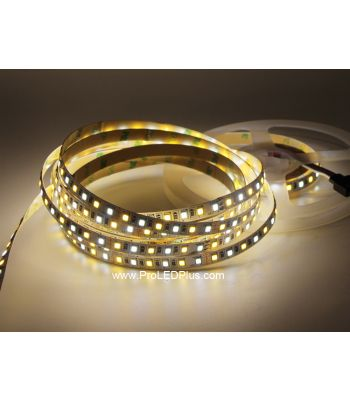 120/m 2835 Dynamic Tunable White LED Strip, 12/24V, 5m