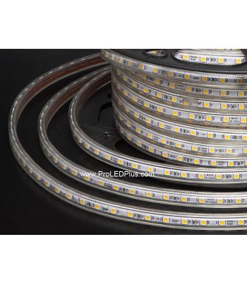 120VAC Driverless 5050 LED Strip, IP67, 60/m, 50m