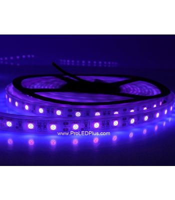 390-395nm Ultraviolet 5050 LED strip BlackLight Strip, 60/m, 5m