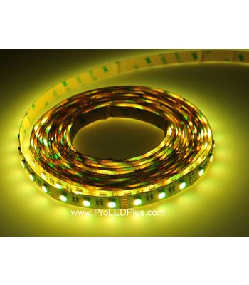 4-in-1 RGBW 5050 LED Strip, 60/m, 12/24V, 5m