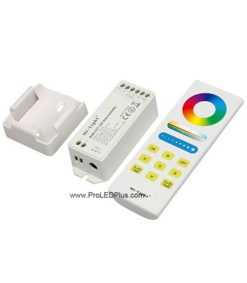 5-channel  Wireless  Controller  with RF Receiver for RGB-CCT Strip