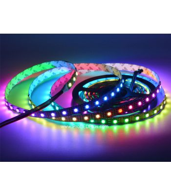 60/m SK9822 Addressable RGB  LED strip, 4m, 5V