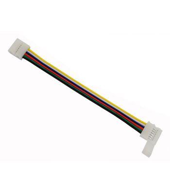6 Pin 12mm Solderless Snap Jumper Connector