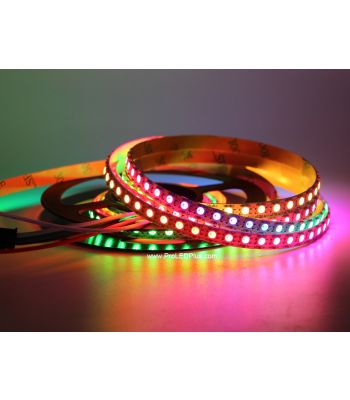 7mm Wide Tiny SK6812 Mini 3535 Digital RGB LED Strip, 144/m, 5V, 1m