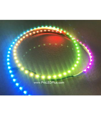 90/m SK6812 4020 Addressable LED Side Light Strip, 5VDC, 4m