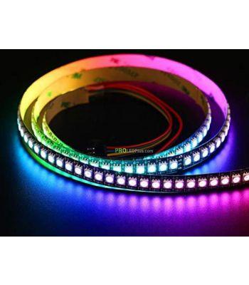 HD107S Addressable RGB LED strip, 27KHZ PWM Frequency, 144/60/30 LEDs/m Density Available