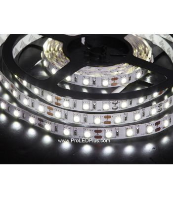 60/m 5050 LED Strip Light, 12V, 5m