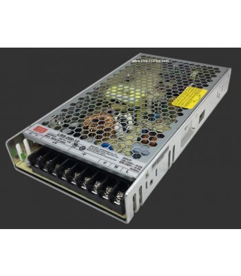 Meanwell LRS-200 Enclosed Power Supply, 5V/12/24V Output Available