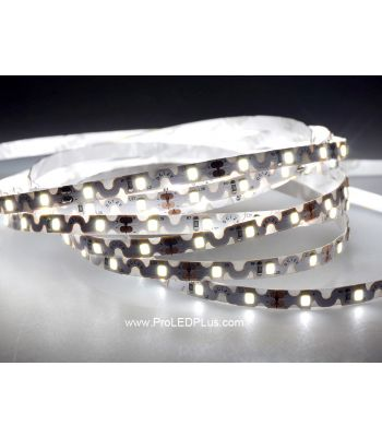 Ultra flexible bendable 2835 LED strip, 60/m, 12V, 5m