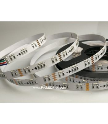 Side Emitting RGB LED Strip, 60/m, 12VDC, 5m