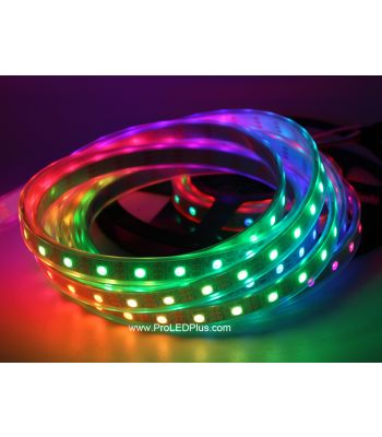 60/m SK6812 RGB 5050 Digital LED Strip, 4m, 5V