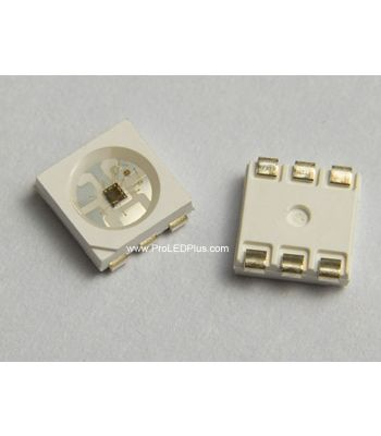 SK9822 5050 RGB LED with Integrated Driver Chip, 100 Pack