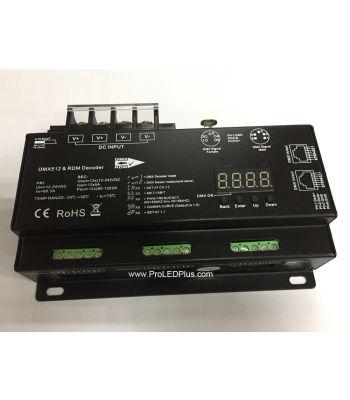 Ultra-Pro 30kHz DMX / RDM 12x5A Decoder, 16 Bit