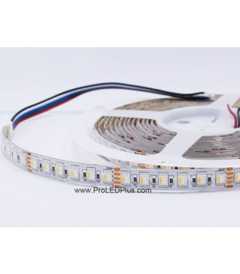 4-in-1 RGBW 5050 LED Strip, 96/m, 24V, 5m