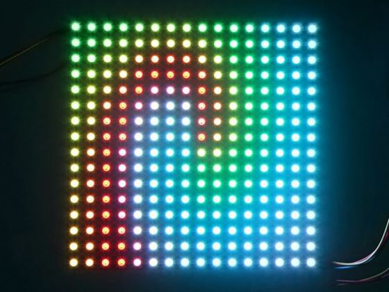 Flexible 16x16 Digital RGB LED Matrix